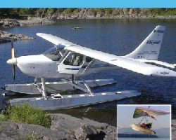 Microlight and small seaplanes
